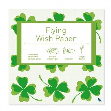 "Flying Wish Paper ""Glücksklee"""