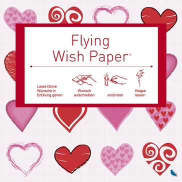 Flying Wishpaper, klein