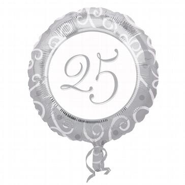 Folienballon 25