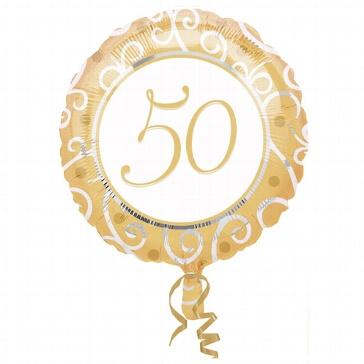 """Folienballon """"50"""""""