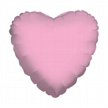 """Folienballon """"Herz"""", mittel, rosa"""