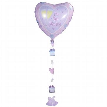 """Folienballon """"Hochzeitswünsche"""""""