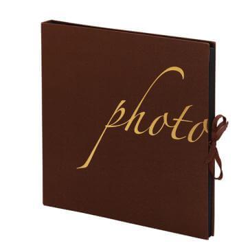 """Fotoalbum """"Weimar"""" in braun"""