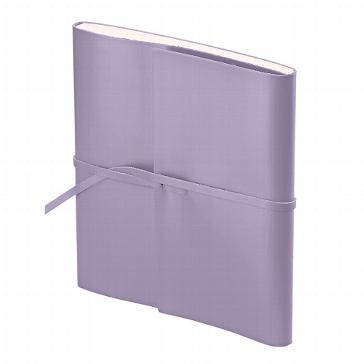 Fotoalbum in violett aus Leder ein exclusives Geschenk