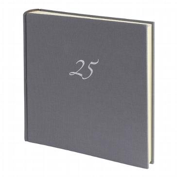 """Fotoalbum """"25"""" zur Silberhochzeit"""