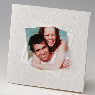 """Fotokarte """"Caprice"""" für die Hochzeit"""