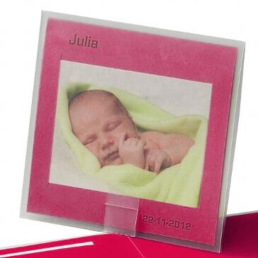 """Fotokarte """"Mercedes"""" - Hochzeitskarte oder Geburtsanzeige"""