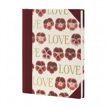 "Gaestebuch ""Love"" bordeaux"