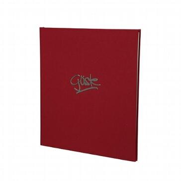 Gästebuch Miami, rot
