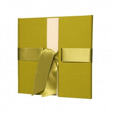 Gästebuch zur Hochzeit in Kiwigrün