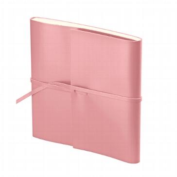 """Gästebuch """"Romano Quadrato"""" rosa"""