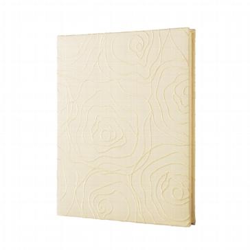 Gästebuch zur Hochzeit in Creme