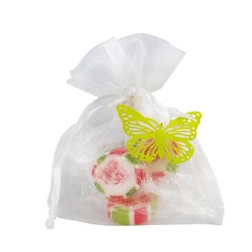 Gastgeschenk Eos mit Schmetterlingen