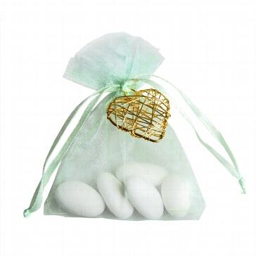 Gastgeschenk Hochzeit Juno mint-gold