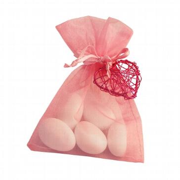 Gastgeschenk Juno für die Hochzeit - rosa-fuchsia