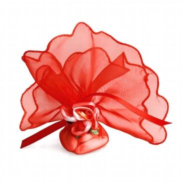 Gastgeschenk Persephone rot für die Hochzeit