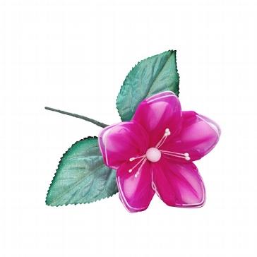 Gastgeschenk Bonboniere für die Hochzeit oder Taufe Mandelbluete Primel fuchsia