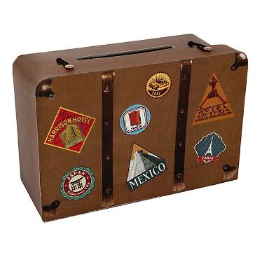 Geldgeschenk-Koffer Hochzeitsreise
