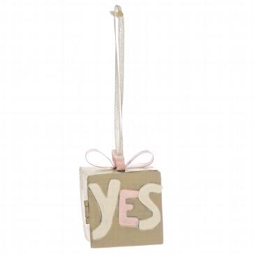 Geldgeschenk-Box YES - Box mit Aufschrift YES