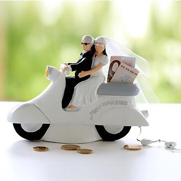 Spardose Hochzeitsroller