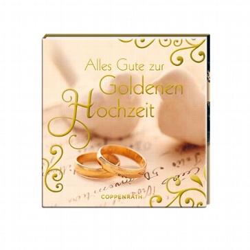 Geschenkbüchlein Alles Gute zur Goldenen Hochzeit