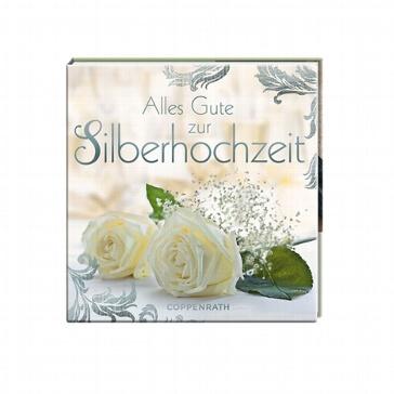 Geschenkbüchlein Alles Gute zur Silbernen Hochzeit