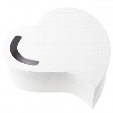 Box für Geschenke und Briefe für das Brautpaar in Herzform mit Schleife