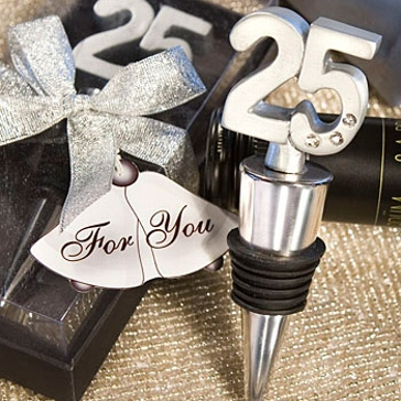 """Geschenkidee Flaschenverschluss """"25"""""""