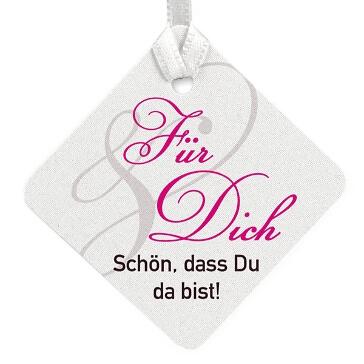 """Geschenkkärtchen """"Calla"""" mit festem Text"""