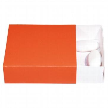 Geschenkschachtel Uni, orange