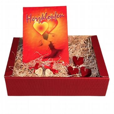 Geschenkidee für Verliebte, Paare, Brautpaare zur Hochzeit, zum Valentinstag, Jahrestag oder Geburtstag