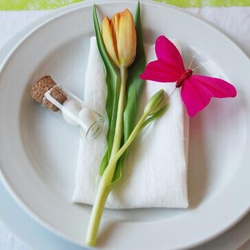 Glasröhrchen für Gastgeschenke klein