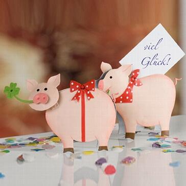 Clip Glücksschweinchen
