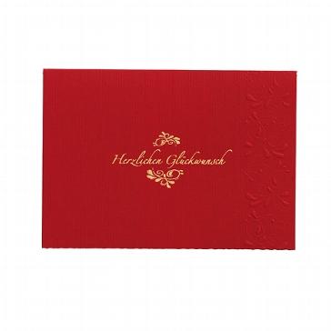 """Glückwunschkarte """"Jaqueline"""" für Glückwünsche zur Hochzeit"""