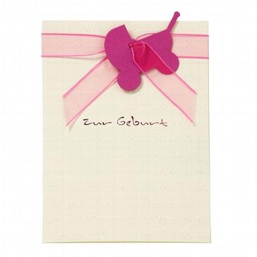 "Gratulationskarte ""Rosalie"" Baby"