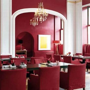 Romantik Wochenende im Savoy Hotel Berlin - Restaurant Weinrot