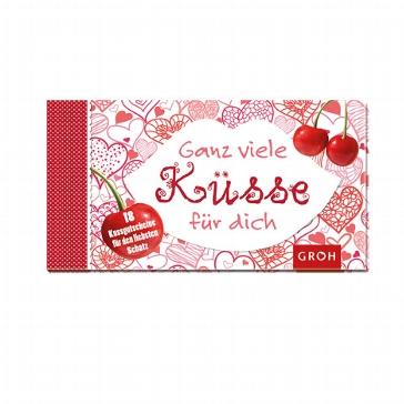 """Gutscheinbuch """"Ganz viele Küsse für dich"""""""