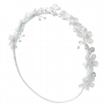 Haarschmuck Blumenmädchen Lilly - Für die Hochzeitshelfer