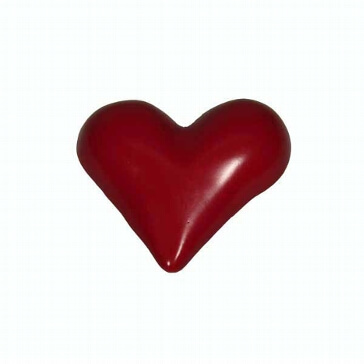 Herzmagnet, rot