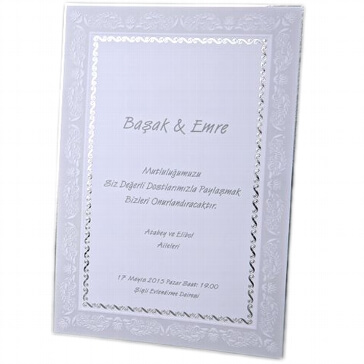 Hochzeitseinladung Beliz
