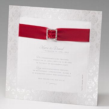 Hochzeiteinladung Caroline