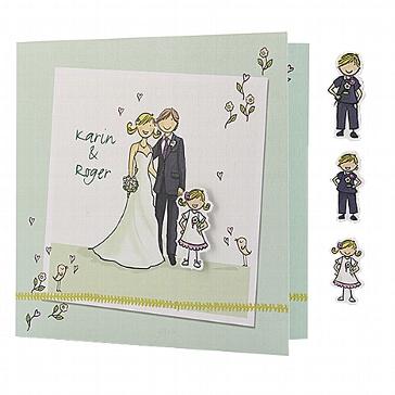 Hochzeitseinladung Effie - Hochzeit mit Kind