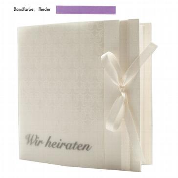 """Hochzeitseinladung """"Elegance"""" flieder zur Hochzeit"""
