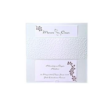 Hochzeitskarte Layla in Mint