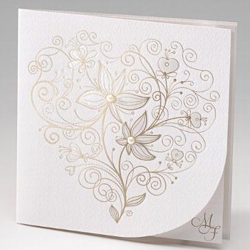 Einladungskarte Hochzeit Madita