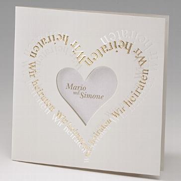 Einladung Hochzeit Margo