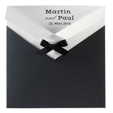 Einladungskarte Martin