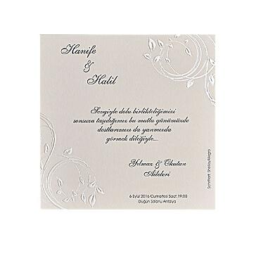 Hochzeitskarte Melissa mit Ausprägungen