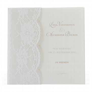 Einladungskarte Pearl