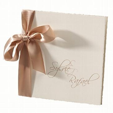 Hochzeitseinladungskarte Sylvie